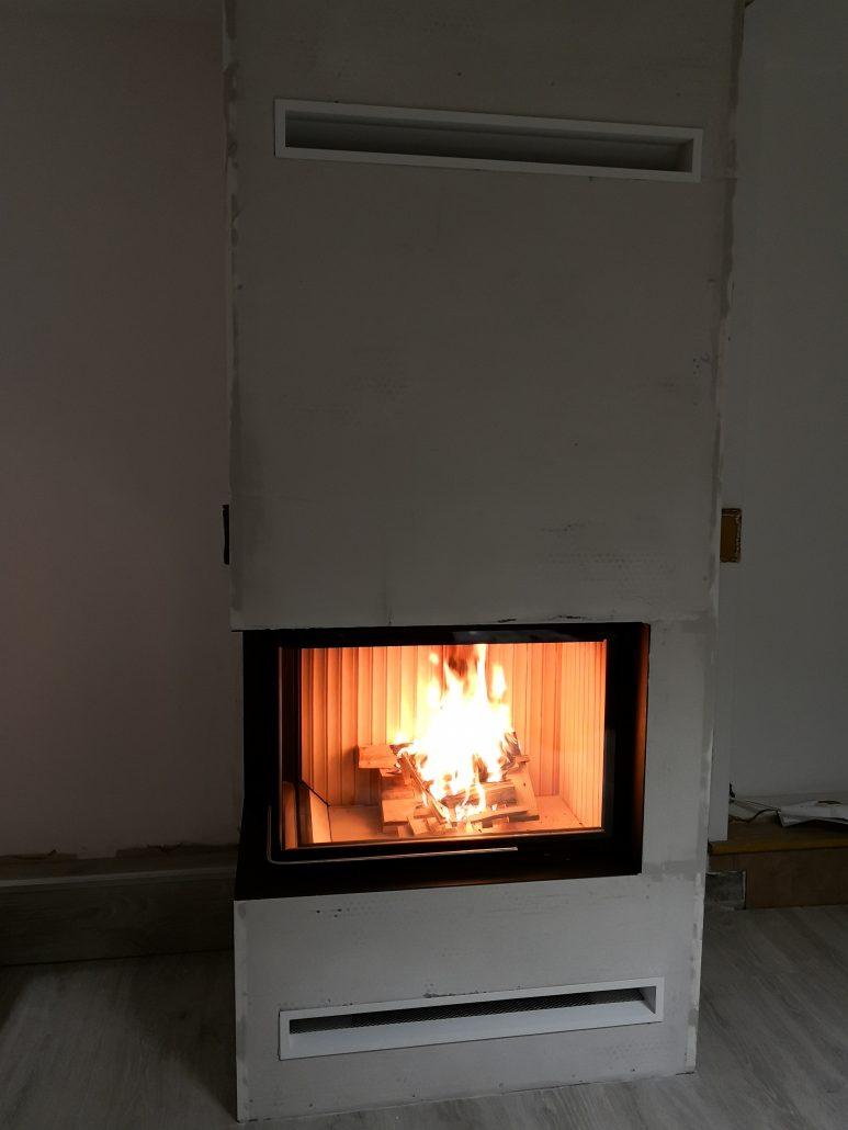 Habillage Cheminée D Angle réalisations – modern flammes