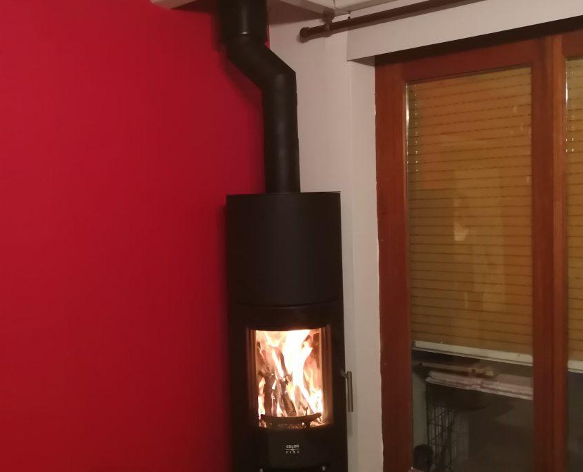Poêle à bois Color & Fire Bons en Chablais