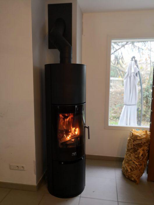 Poêle à bois Color & Fire Nodus